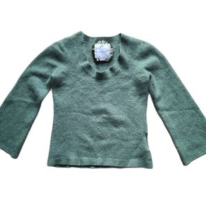 Old Navy 100% green cashmere, Size LG